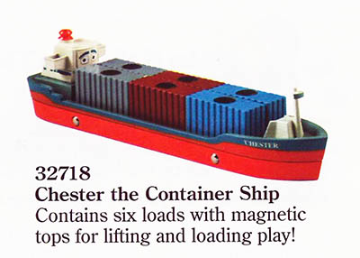 #32718 Cheaster the Container Ship